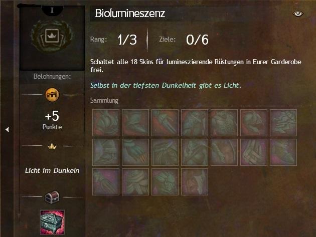 Sammlung Blumineszenz