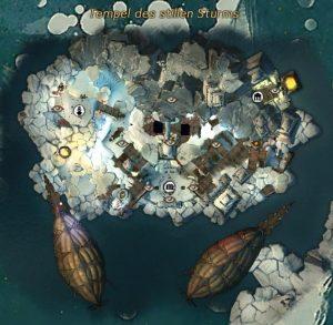 Tempel des Stillen Sturms Karte
