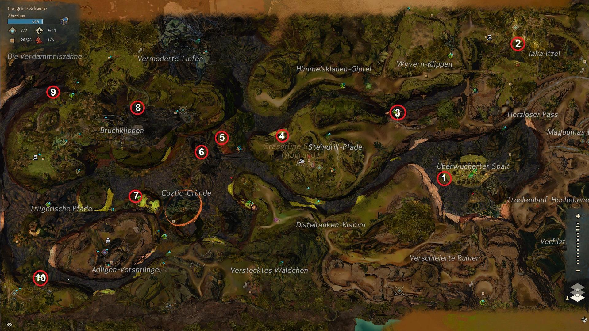 Karte Itzel Totem