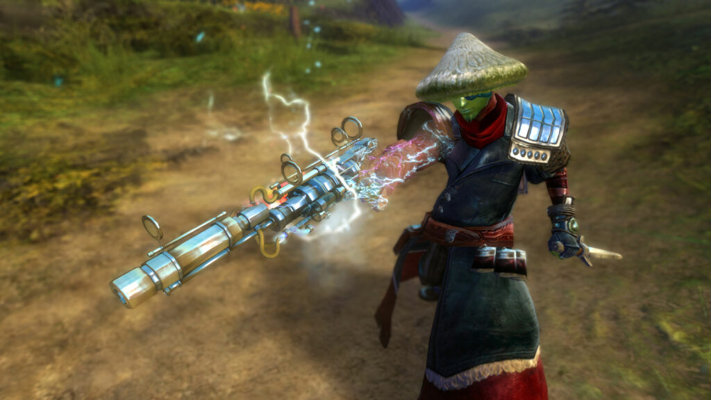 Bild der legendären Pistole Hope als Symbolbild für die Kompensation legendärer Gegenstände