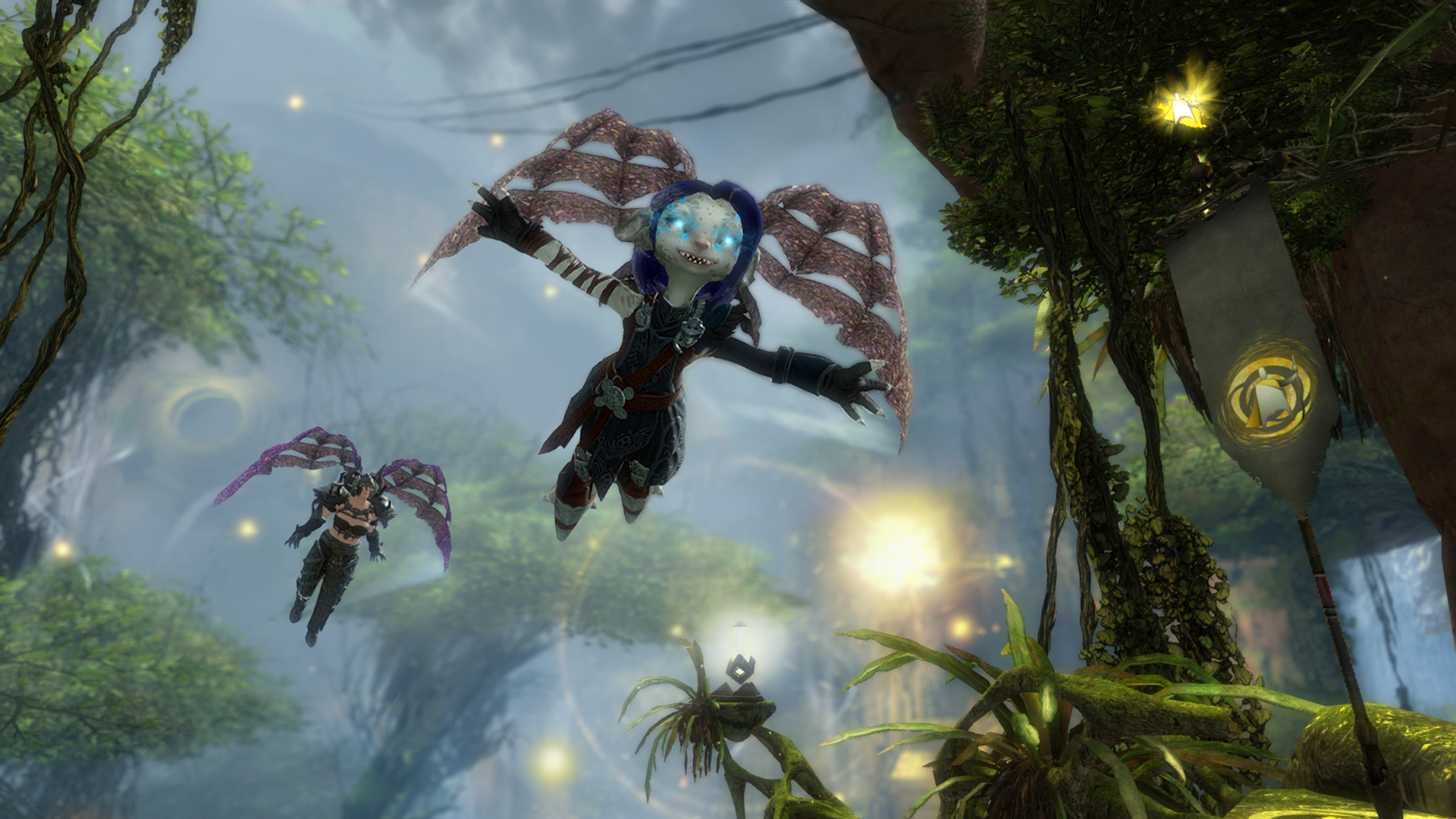 GW2_HoT_10_2015_Gliding_Mastery_in_Auric_Basin_Adventure