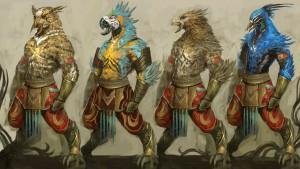 Die Tengu. Ein mysteriöses, altes Volk, unterstützen uns, mit diesem Bonus-Event, gegen die Drachen.