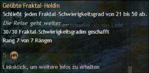 Geübte Fraktal-Heldin