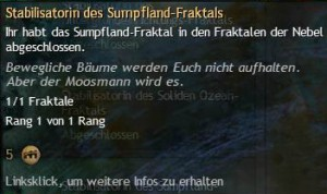 Stabilisatorin des Sumpfland-Fraktals
