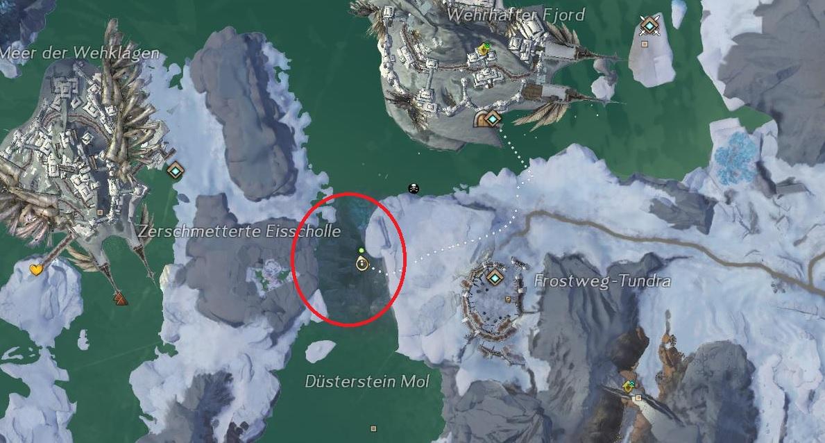 Arktische-Quallan-Stachel