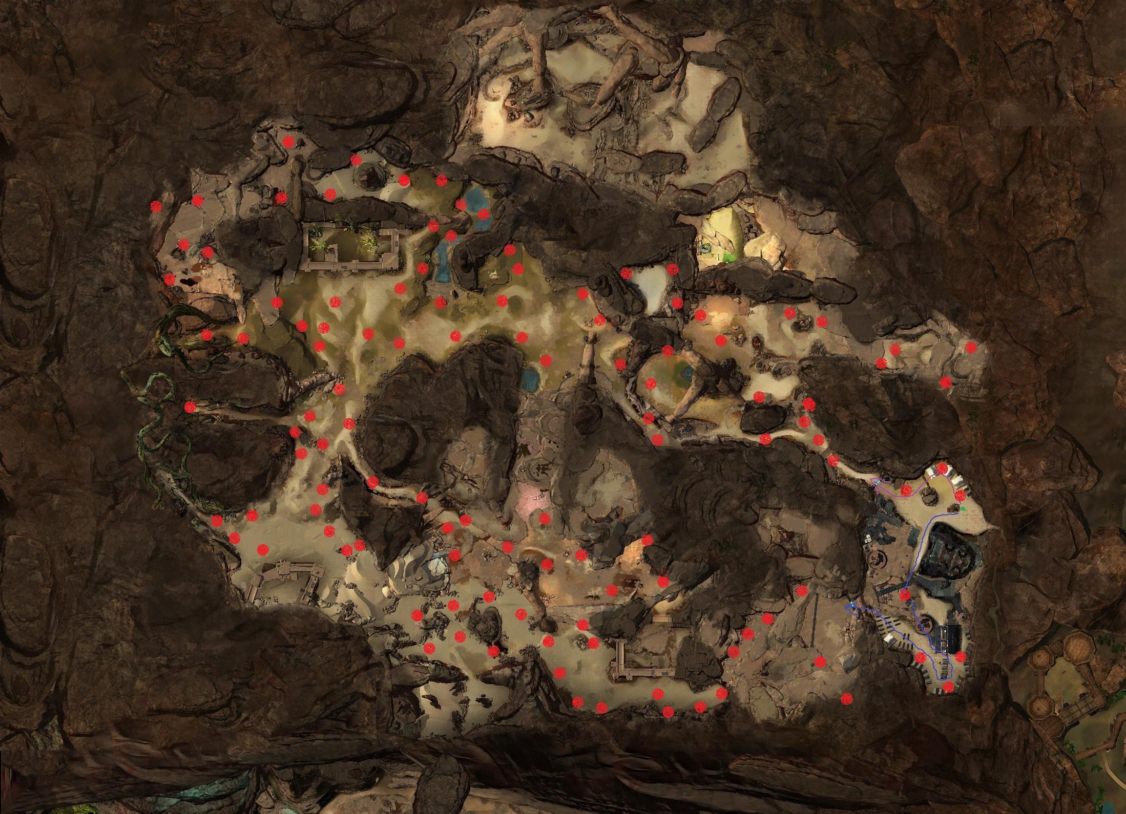obsidian scherben farmen gw2