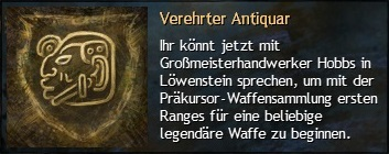 Legendäre Handwerkskunst_01 Verehrter Antiquar