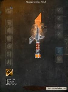 Kaiserschlangen-Waffen