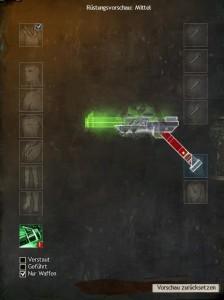 Krötenkönig-Waffen