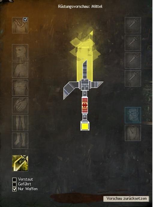 Sturmzauberer-Waffen