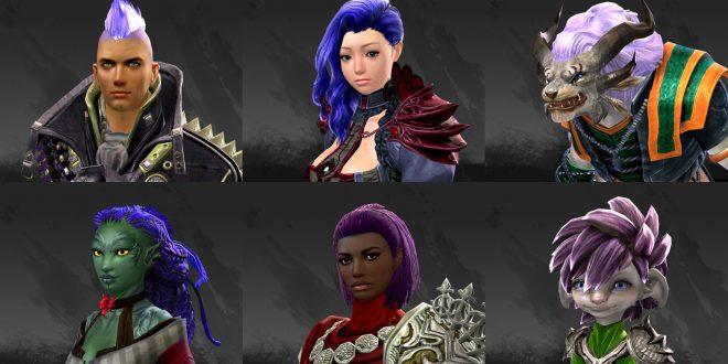 Galerie: Sechs neue Haarfarben