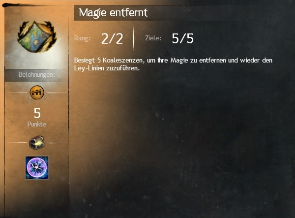 Magie Entfernen