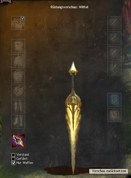Leuchtenden Waffen