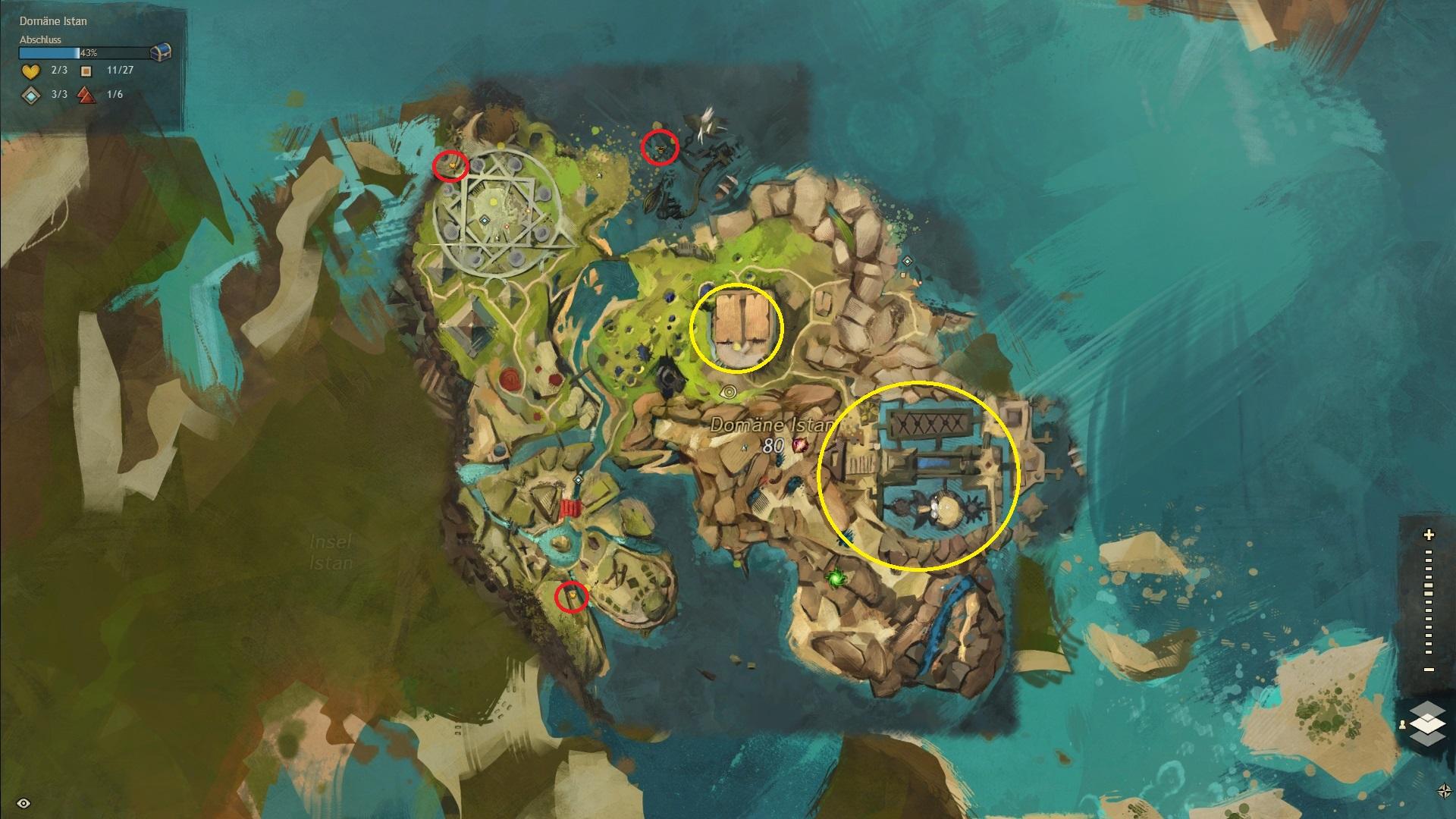 Gw2 Karte.Tagesanbruch Der Große Guide Währungen Und Karte Guildnews