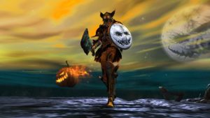 Guild Wars 2 Halloween-Event Axt