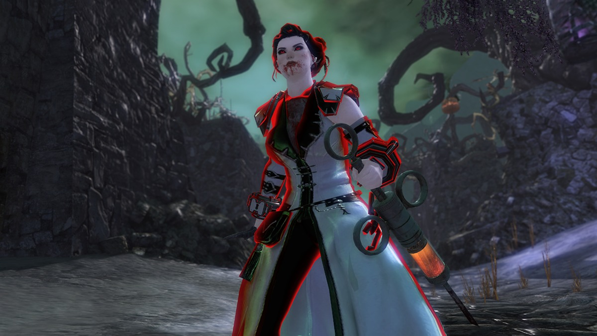 Guild Wars 2 Halloween-Event Dolch