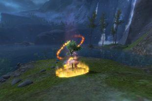 Feuersturm-Holzfällerwerkzeug