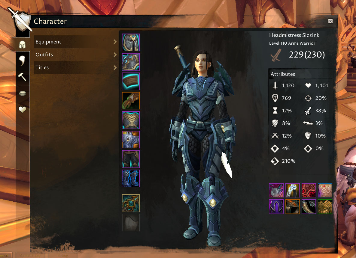 Guild Wars 2 Interface für World of Warcraft