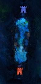 Halle der Nebel Karte