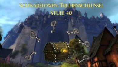 Photo of Guide: Schwarzlöwen-Truhenschlüssel auf Stufe 40 farmen