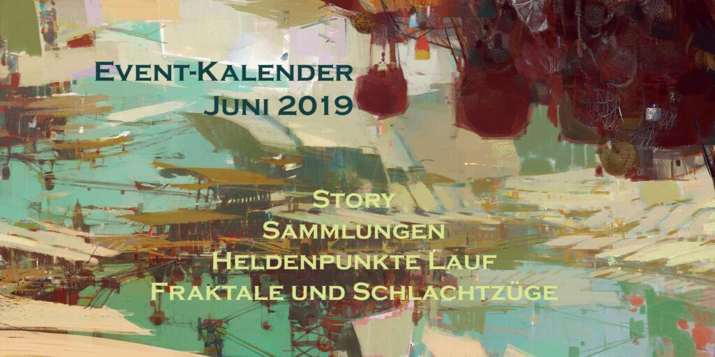 Event-Kalender Juni 2019