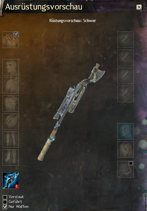 Holografische Waffe