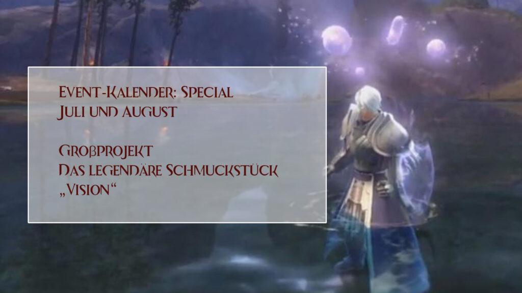 Event-Kalender Vision