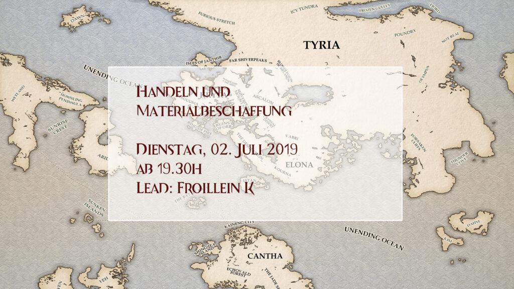 Event-Kalender Mats und handeln Traden
