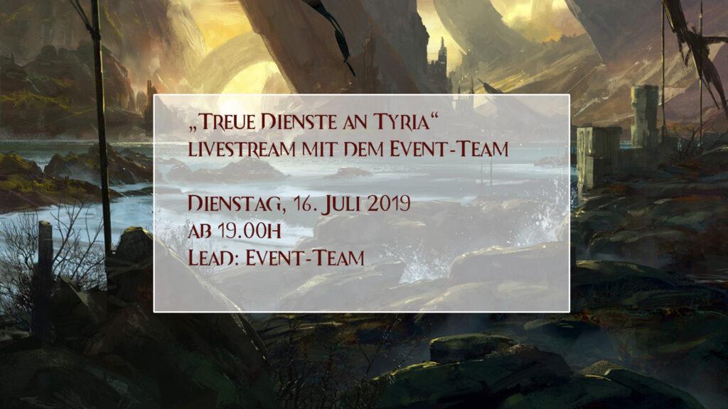Event-Kalender Treue Dienste für Tyria