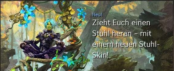 """""""Zweig des Hains""""-Stuhl"""