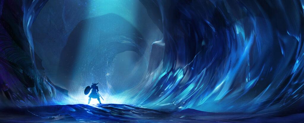 Schatten im Eis