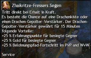 Zhaikritze-Fressers Segen
