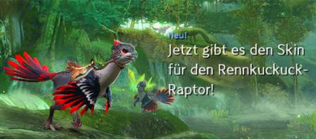 Rennkuckuck-Raptor