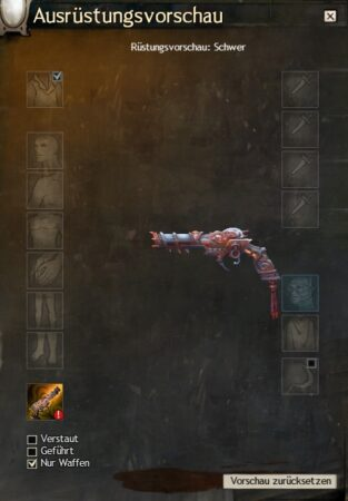Karmesinrote Drachentöter-Waffen