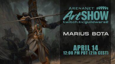 Guild Wars 2 Art Show am 14.April