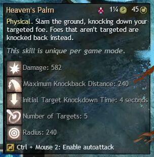 """Beschreibung von """"Heaven's Palm"""" aus dem Guild Chat zum Willensverdreher"""