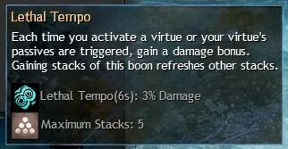 """Beschreibung von """"Lethal Tempo"""" aus dem Guild Chat zum Willensverdreher"""