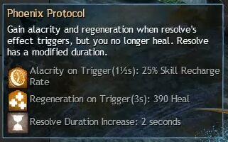 """Beschreibung von """"Phoenix Protocol"""" aus dem Guild Chat zum Willensverdreher"""