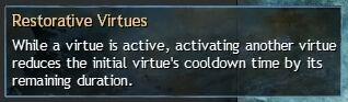 """Beschreibung von """"Restorative Virtues"""" aus dem Guild Chat zum Willensverdreher"""